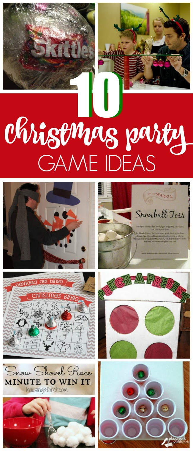 Work Holiday Party Game Ideas  10 Christmas Party Game Ideas Pretty My Party