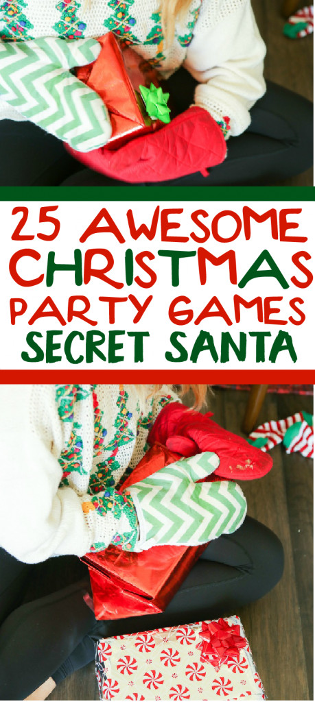Work Holiday Party Game Ideas  25 funny Christmas party games that are great for adults