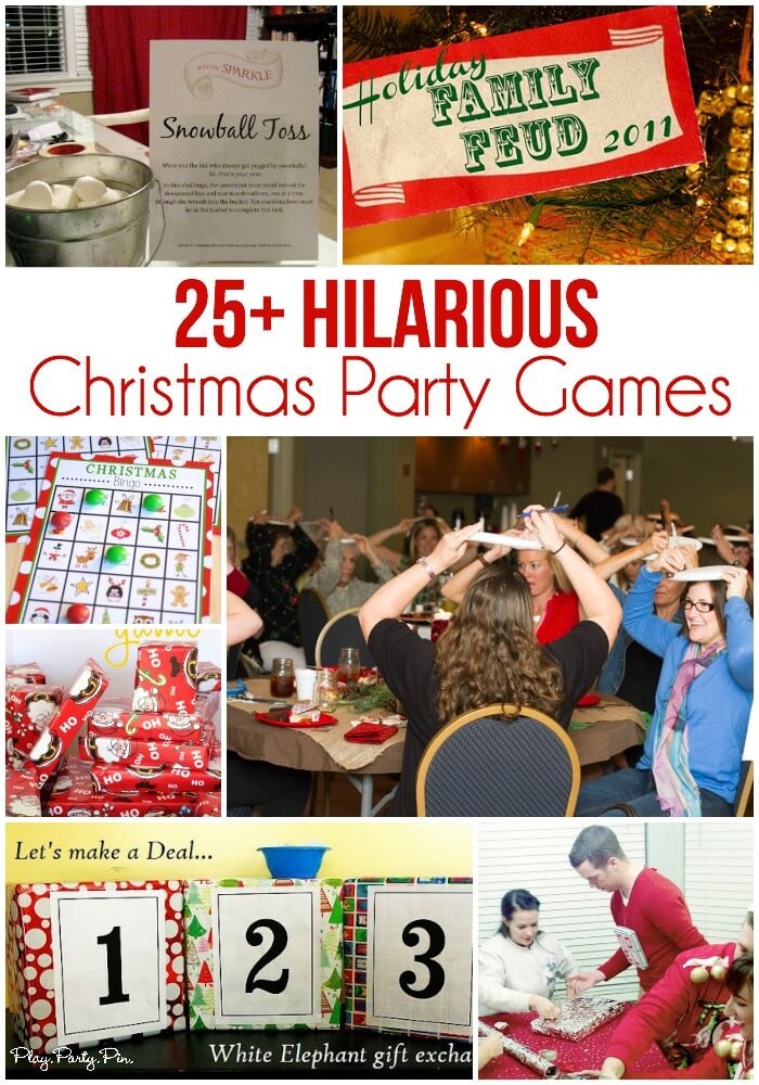 Work Holiday Party Game Ideas  25 Easy Christmas Party Games You Have to Play This Year