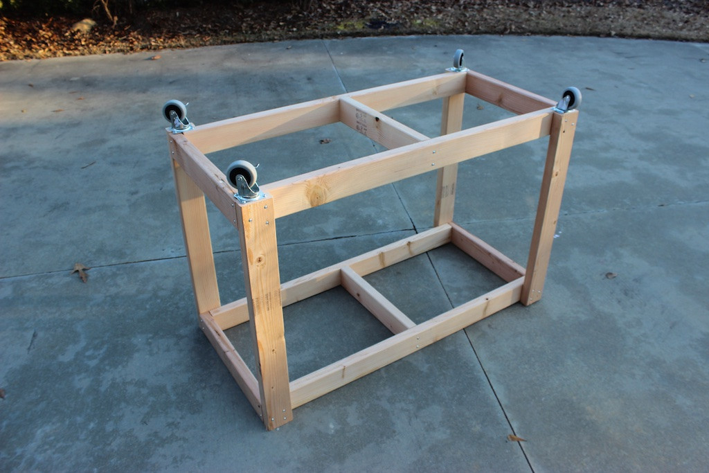 Workbench Plans DIY  Easy Portable Workbench Plans Rogue Engineer