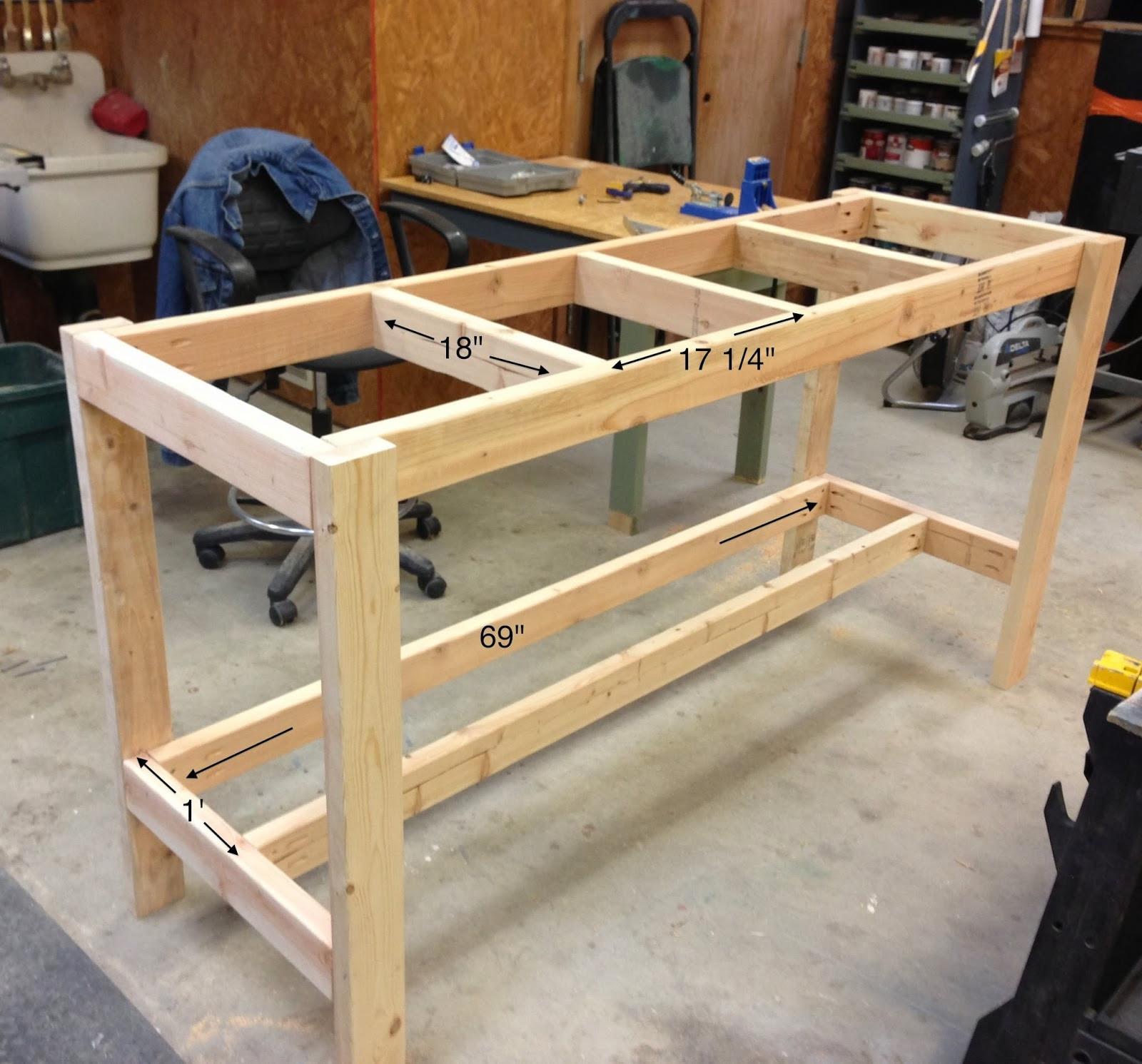 Workbench Plans DIY  Wilker Do s DIY Workbench