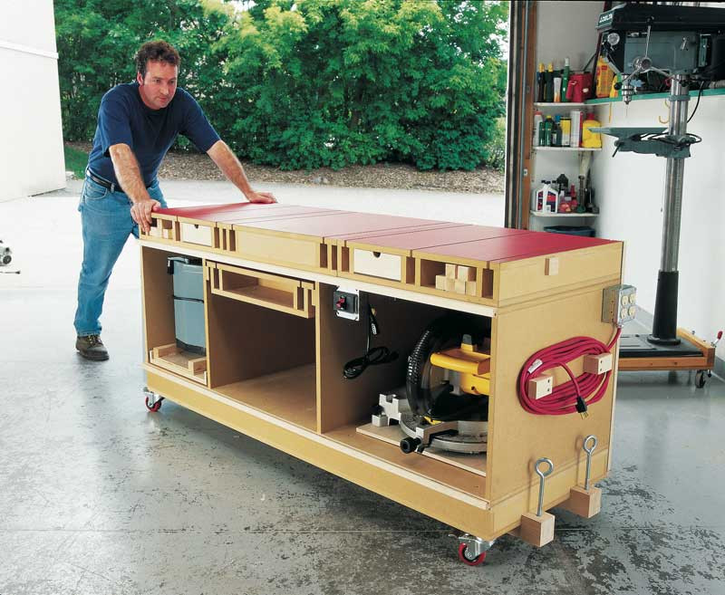 Workbench Plans DIY  You Have to Try This Ultimate Tool Stand & DIY Workbench