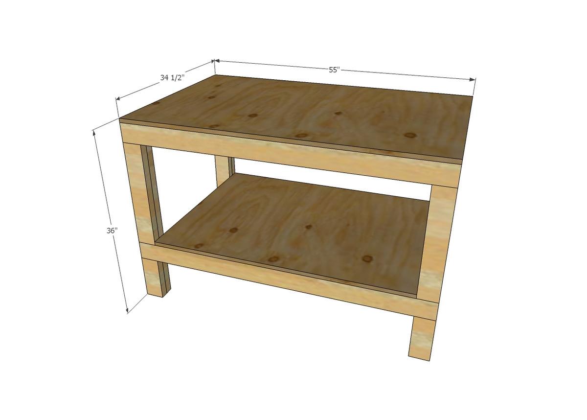 Workbench Plans DIY  Ana White