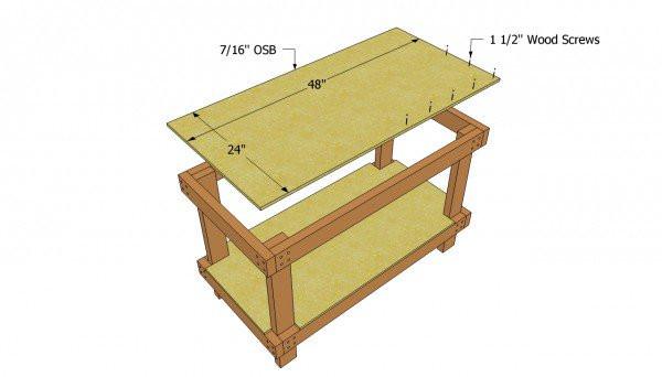 Workbench Plans DIY  Workbench plans free MyOutdoorPlans
