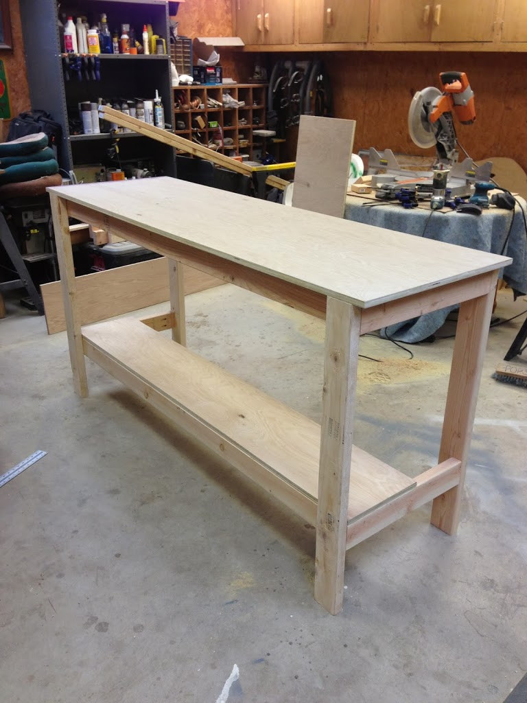 Workbench Plans DIY  DIY Workbench Wilker Do s