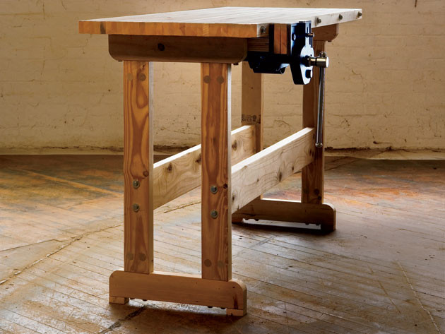 Workbench Plans DIY  How to Build a Workbench Simple DIY Woodworking Project