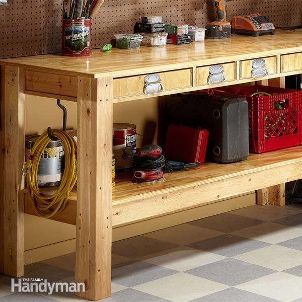 Workbench Plans DIY  Simple Workbench Plans