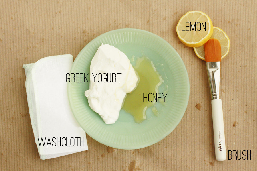 Yogurt Face Mask DIY  Greek Yogurt Mask