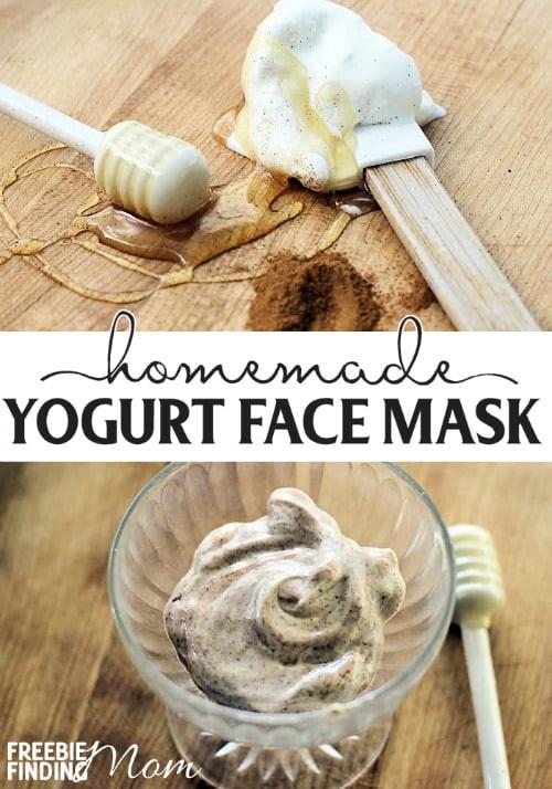 Yogurt Face Mask DIY  Homemade Yogurt Face Mask