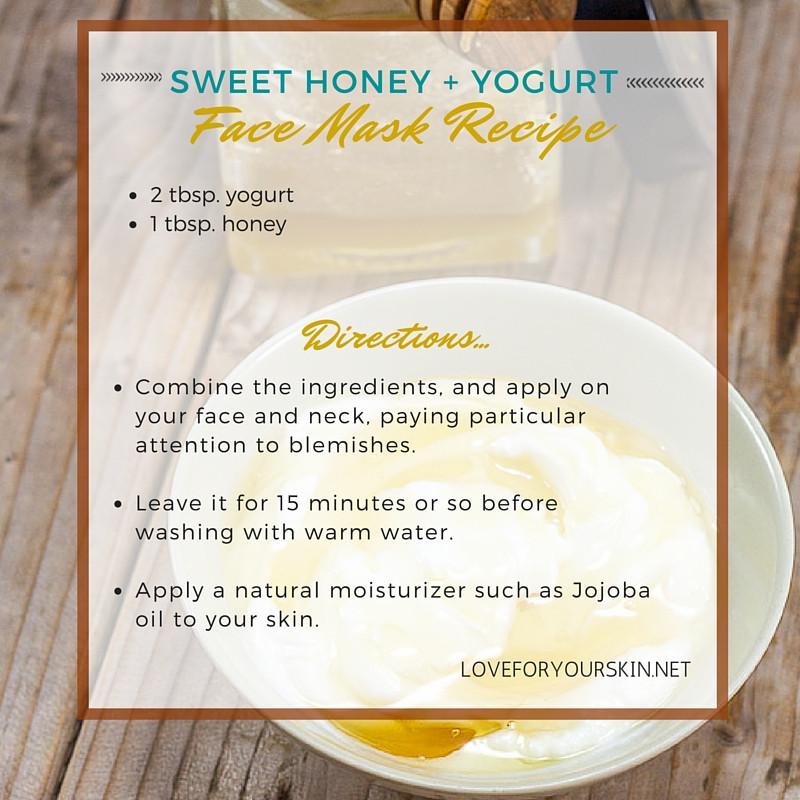 Yogurt Face Mask DIY  3 Simple & DIY Yogurt Face Masks Recipes for Gorgeous Skin