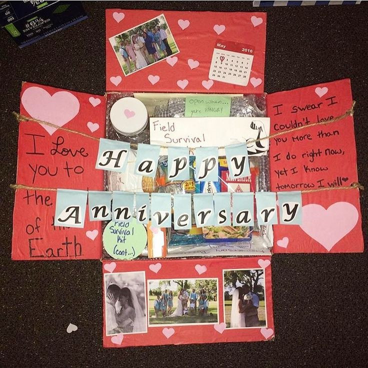 1 Year Anniversary Gift Ideas For Him  Best 25 Anniversary care package ideas on Pinterest