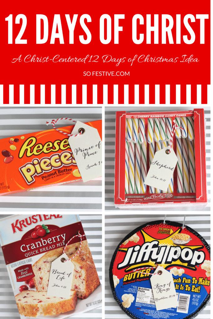 12 Days Of Christmas Gift Ideas  Easy 12 Days of Christmas Idea Printables So Festive