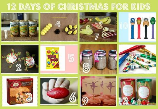 12 Days Of Christmas Gift Ideas  12 Days of Christmas Gifts for Kids