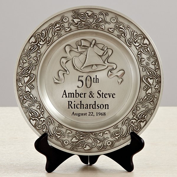 50 Year Anniversary Gift Ideas  50th Anniversary Gifts for Golden Wedding Anniversaries