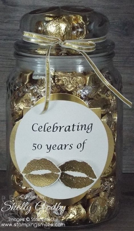 50 Year Anniversary Gift Ideas  Lots of Kisses for a 50th Wedding Anniversary Gift