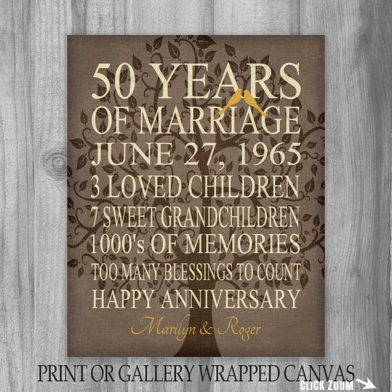 50 Year Anniversary Gift Ideas  25 best ideas about 50th Anniversary Cards on Pinterest