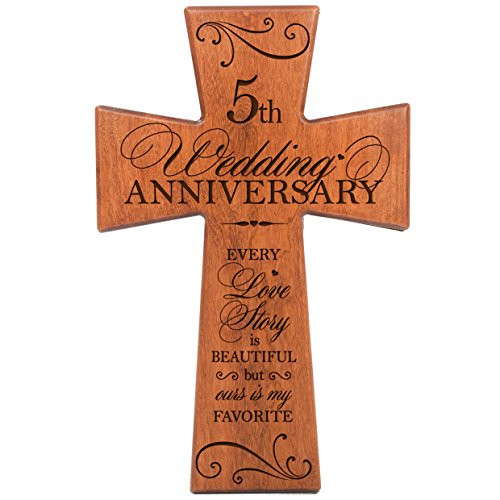 5Th Anniversary Gift Ideas For Couple  5 Year Anniversary Gifts for Her Amazon
