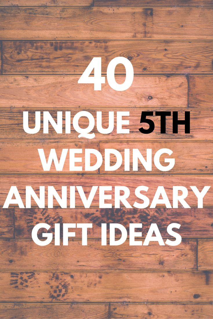 5Th Anniversary Gift Ideas For Couple  Best 25 5th anniversary ideas ideas on Pinterest