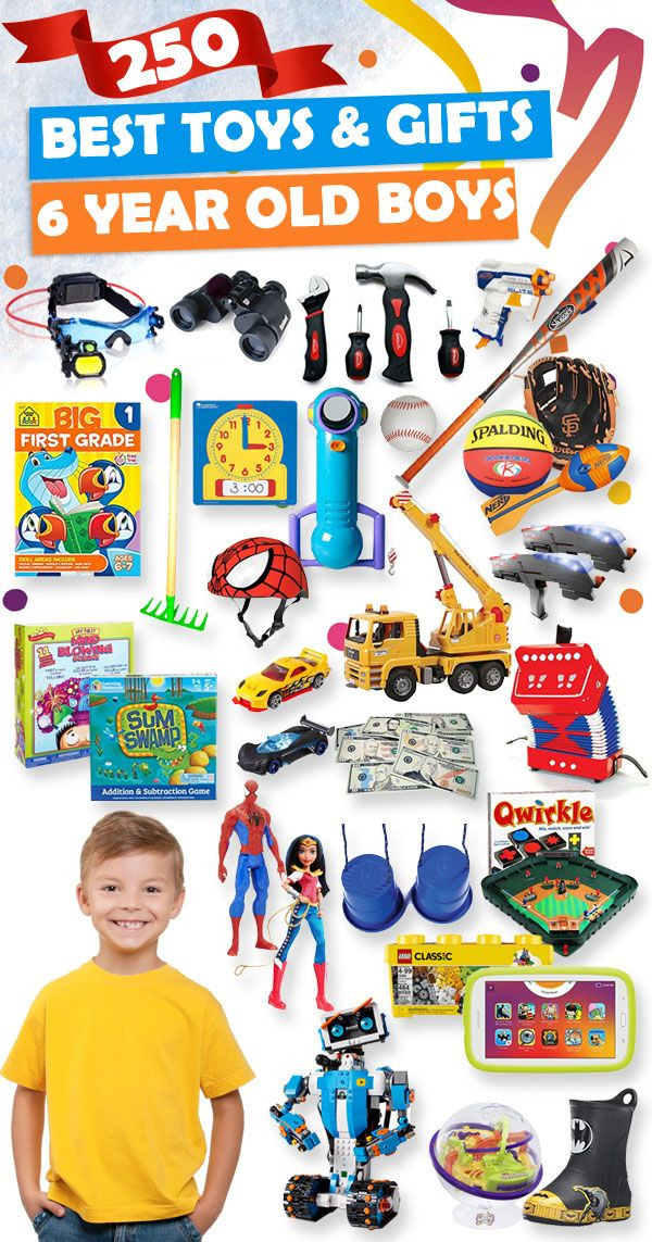 6 Year Old Christmas Gift Ideas  Best Gifts and Toys For 6 Year Old Boys 2017