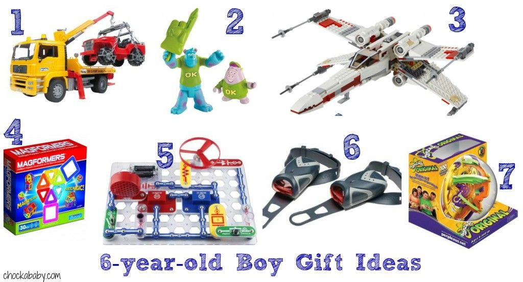 6 Year Old Christmas Gift Ideas  Gift ideas for 6 year old boys from chockababy