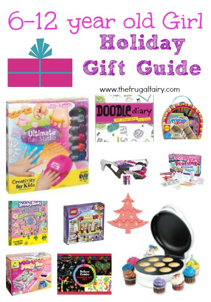 6 Year Old Christmas Gift Ideas  Gifts for 6 12 year old Girls 2013 Holiday Gift Guide