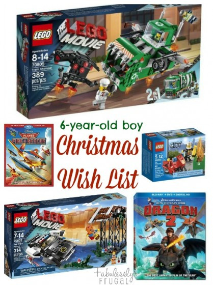 6 Year Old Christmas Gift Ideas  Christmas Gift Ideas – 6 Year Old Boy