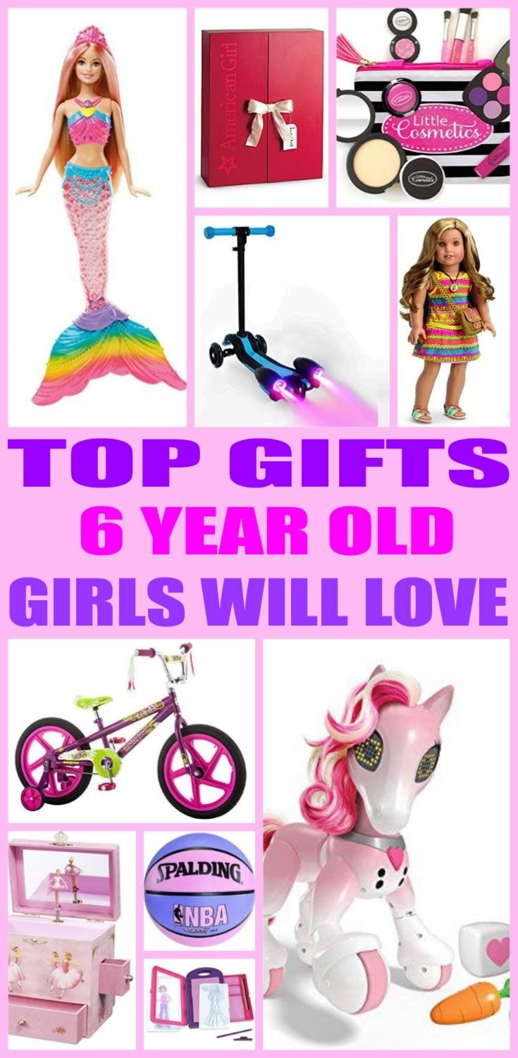 6 Year Old Christmas Gift Ideas  Top Gifts 6 Year Old Girls Will Love