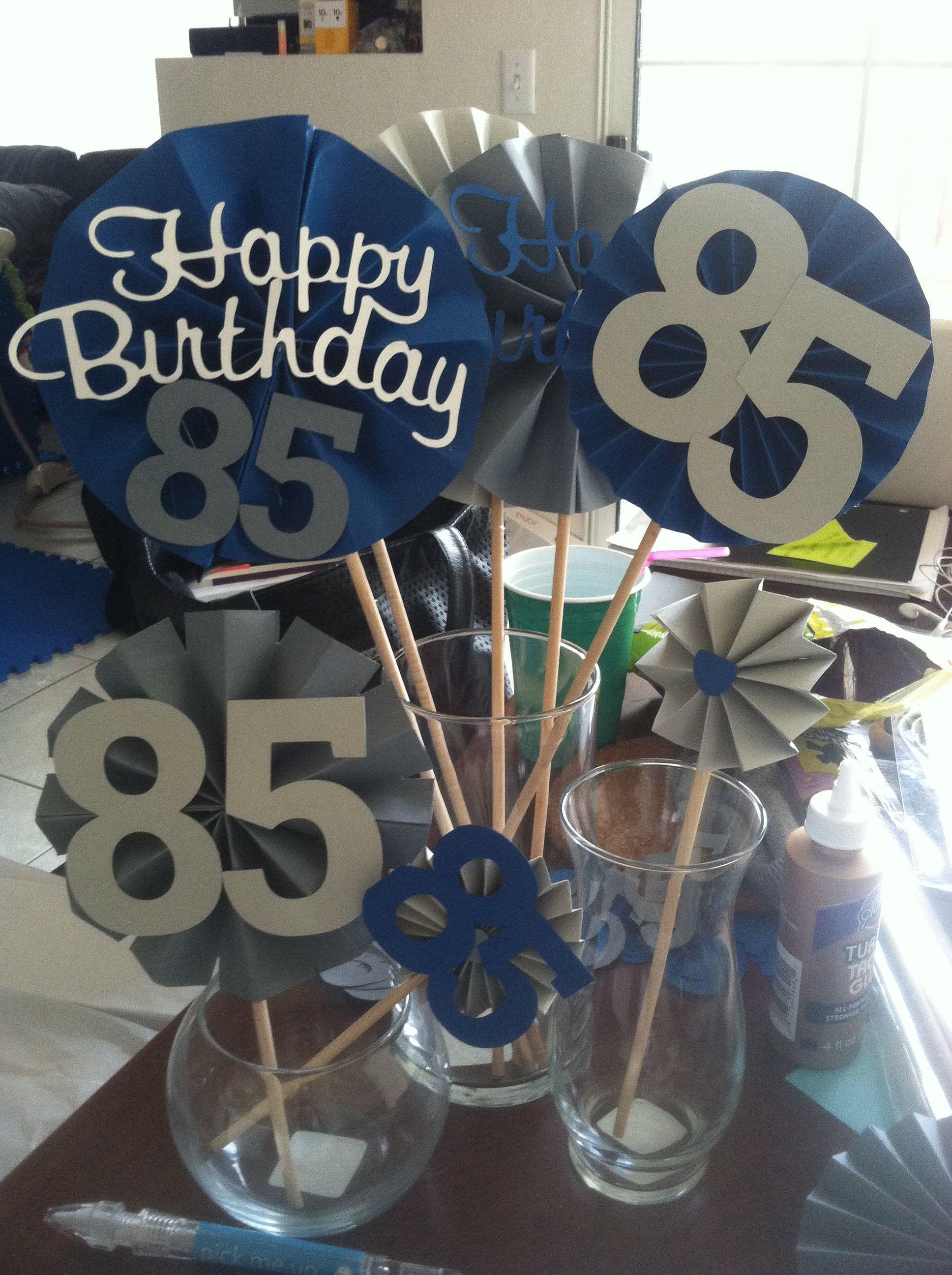 80Th Birthday Party Ideas For Dad  Grandpas 85th birthday easypeasybynoeeazy