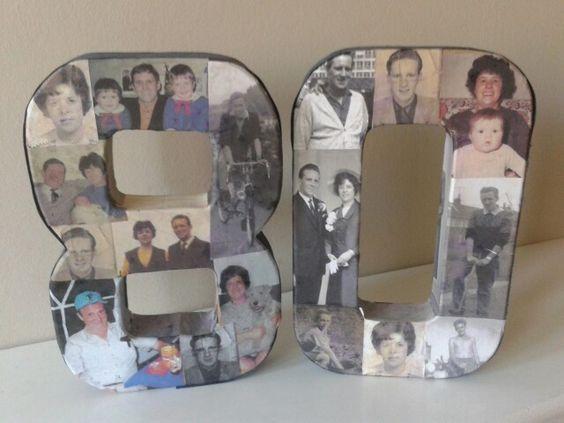 80Th Birthday Party Ideas For Dad  80th Birthday idea celebrating both my Mam & Dad s 80th