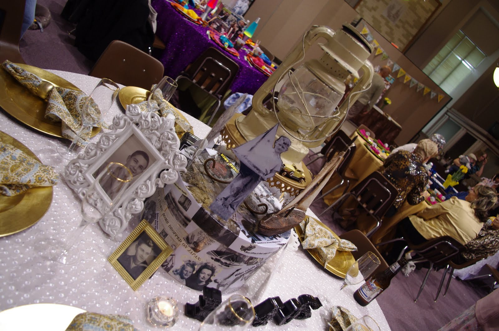 80Th Birthday Party Ideas For Dad  All About the Tables My Dad s 80TH Birthday Surprise Party