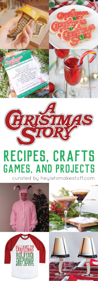 A Christmas Story Party Ideas  A Christmas Story Crafts Games Recipes and Projects