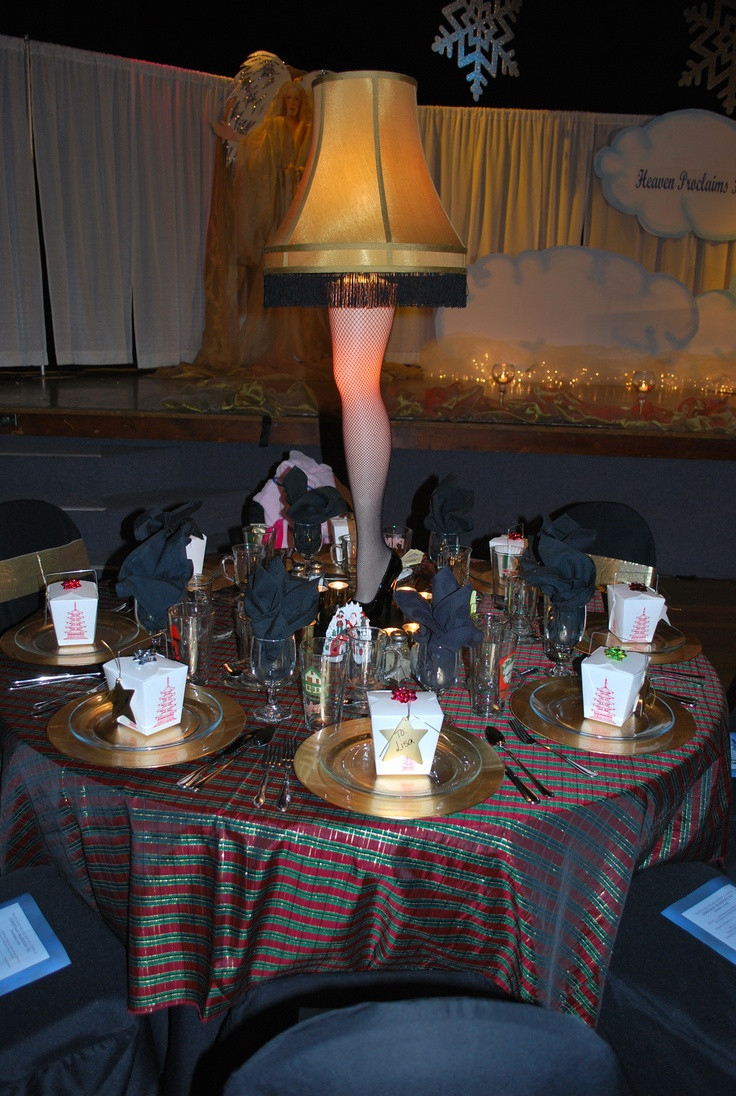 A Christmas Story Party Ideas  14 best images about Christmas Party Ideas on Pinterest