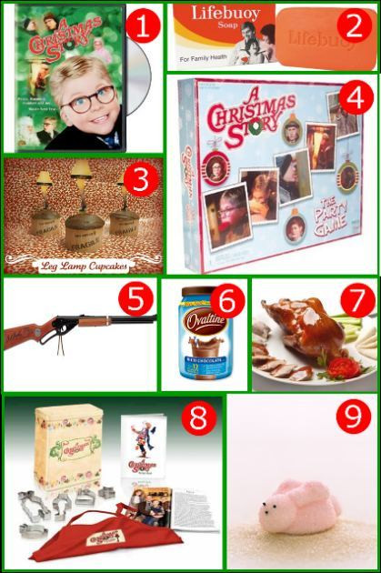 A Christmas Story Party Ideas  Recipe Monday A Christmas Story – Edible Crafts