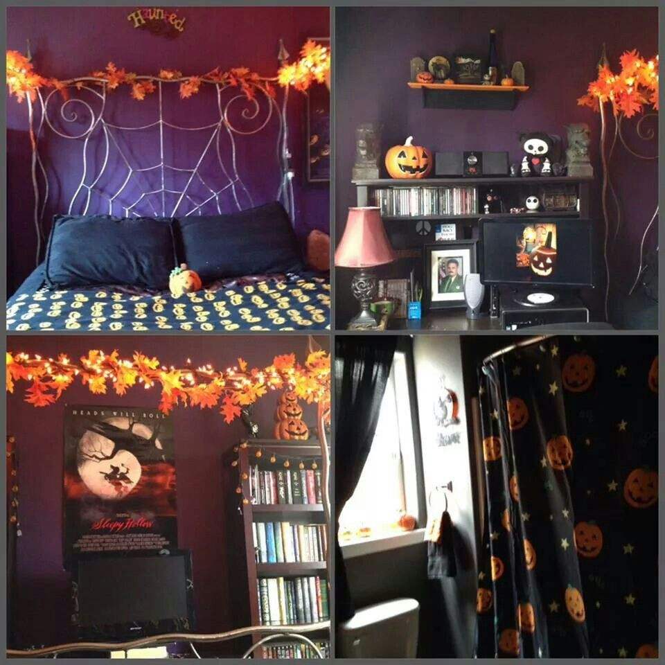 Apartment Halloween Decorating Ideas  Halloween bedroom Ideas for the House