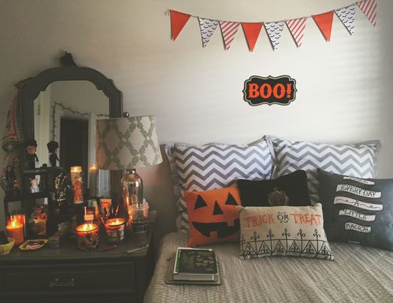 Apartment Halloween Decorating Ideas  Spooky But Lovely Kids Room Halloween Decorations Ideas