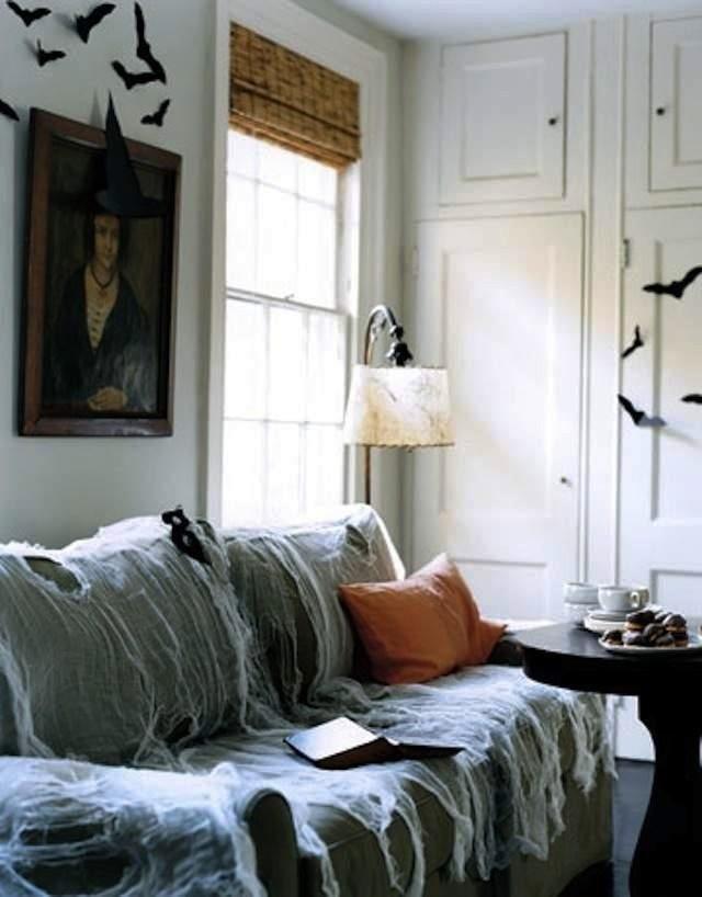 Apartment Halloween Decorating Ideas  21 Stylish Living Room Halloween Decorations Ideas
