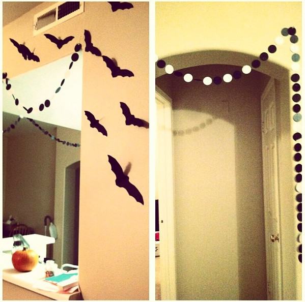 Apartment Halloween Decorating Ideas  Our apartment Halloween decorations