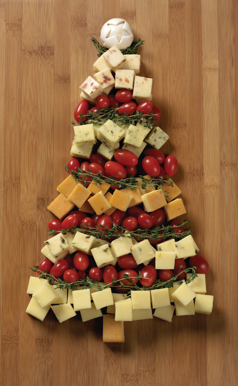 Appetizer Ideas For Christmas Party  Christmas Appetizer Recipes Tree Cheese Board Idea