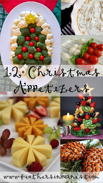 Appetizer Ideas For Christmas Party  12 Christmas Party Food Ideas Feathers in Our Nest