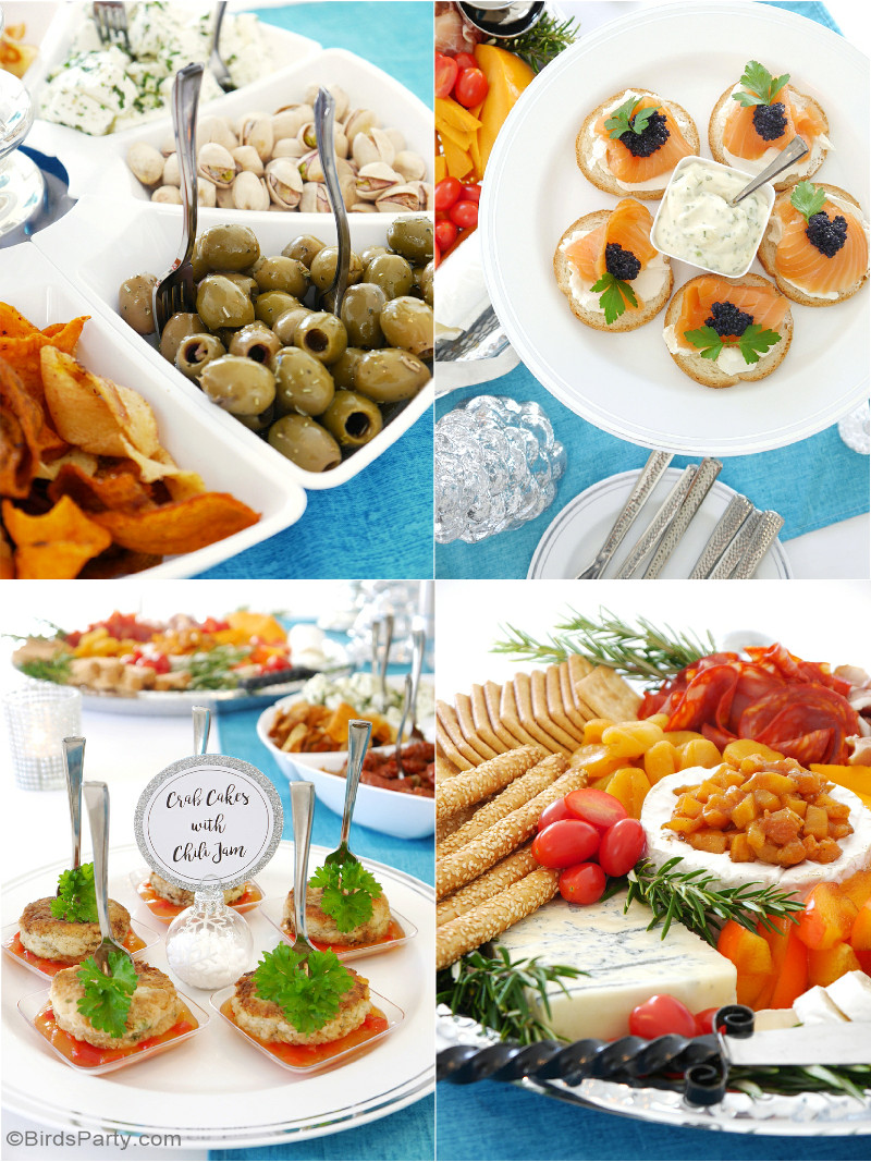 Appetizer Ideas For Christmas Party  Hosting a Holiday Cocktail & Appetizers Party Party