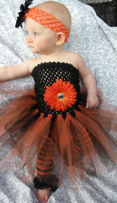 Baby Flower Halloween Costumes  Baby Infant Toddler Girl Halloween by LittleGraceBowtique