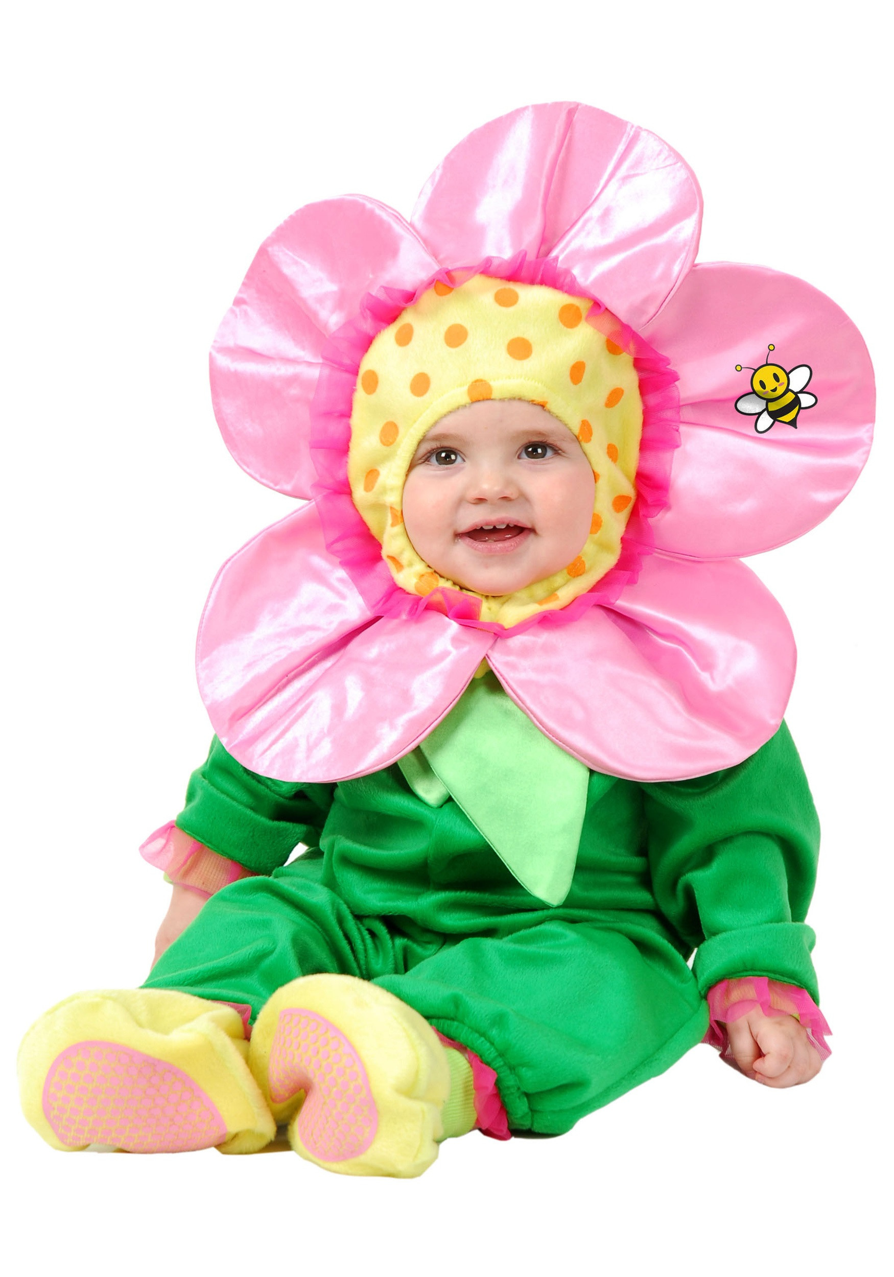 Baby Flower Halloween Costumes  Little Flower Baby Costume Infant and Toddler Easter