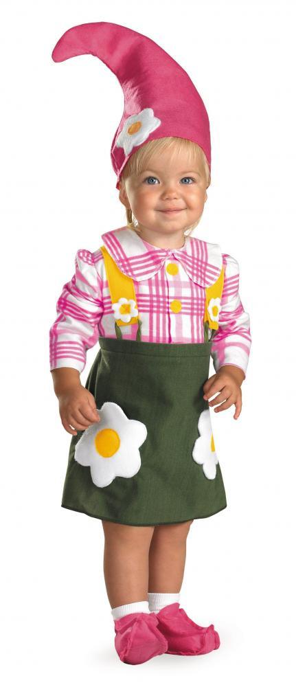 Baby Flower Halloween Costumes  baby garden gnome costume