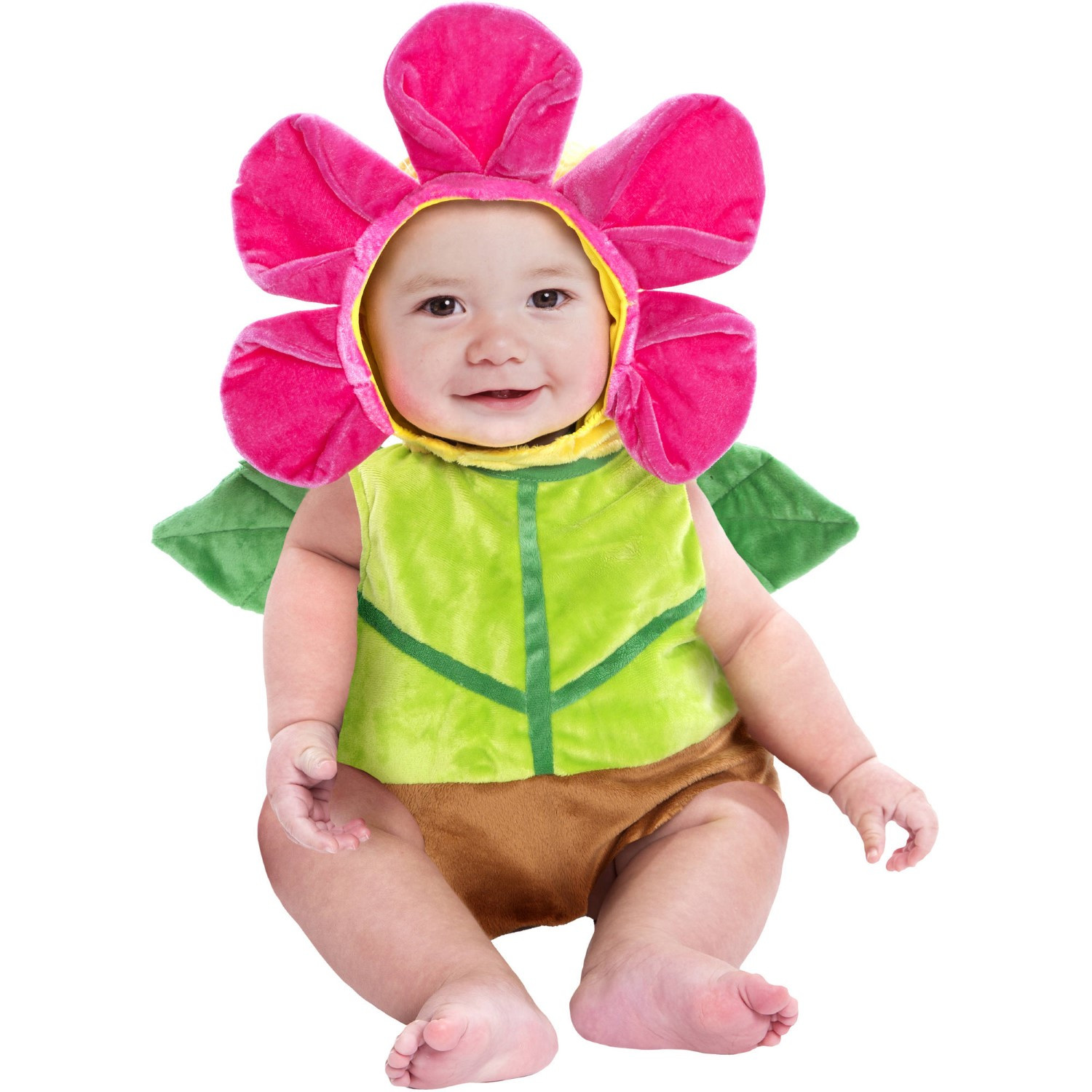 Baby Flower Halloween Costumes  Flower Pot Bubble Infant Halloween Dress Up Role Play
