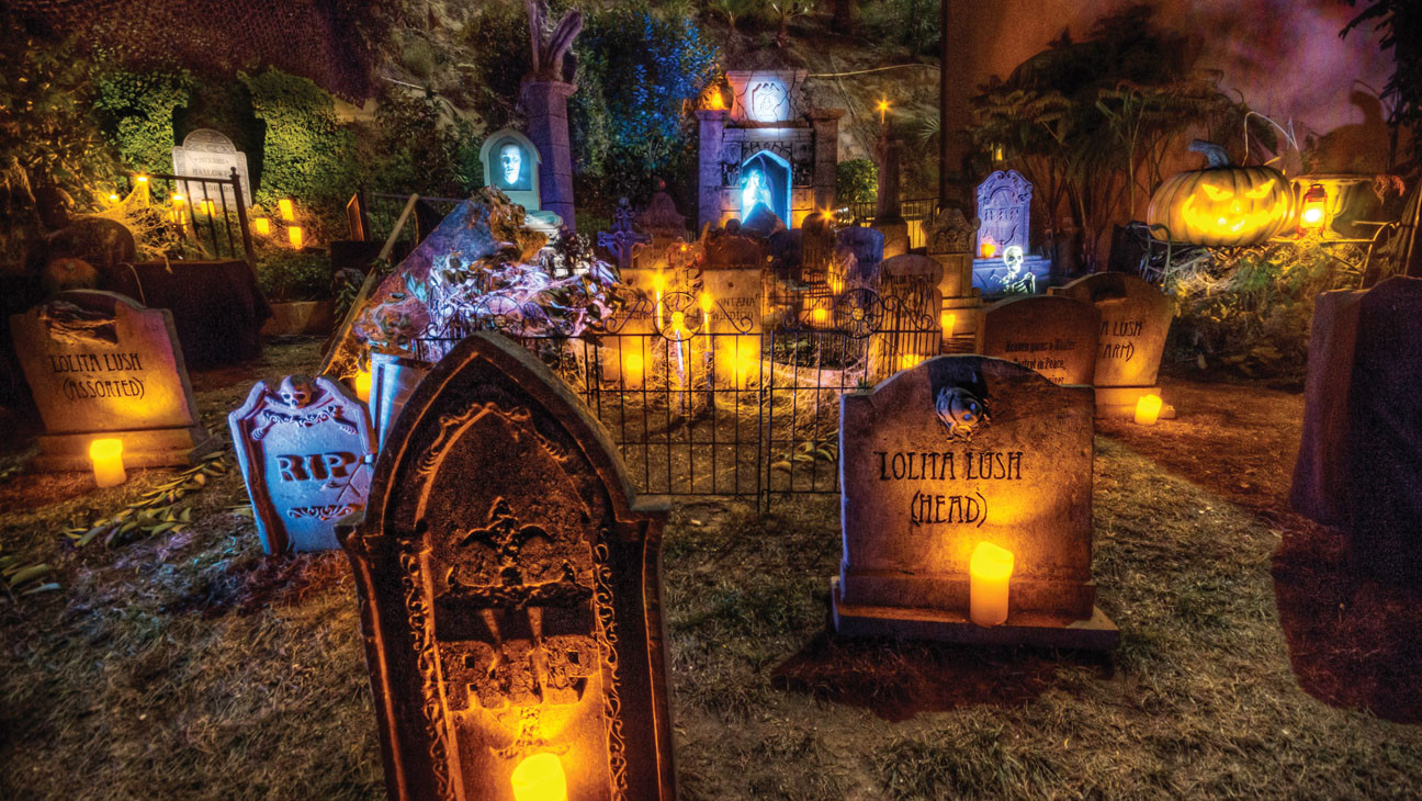 Backyard Halloween Party  Houses of Horror 3 Halloween Haunts Designed by Top L A