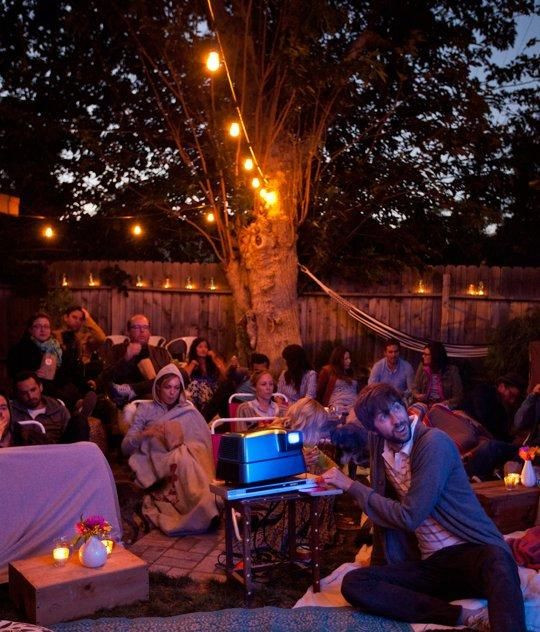 Backyard Halloween Party  58 best images about Partayyy on Pinterest