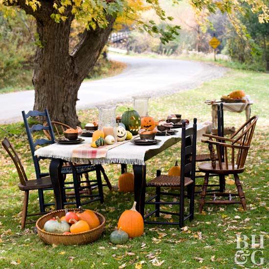 Backyard Halloween Party  Backyard Party to Celebrate the Harvest Season