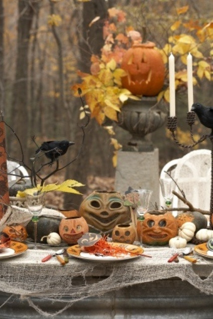Backyard Halloween Party  60 Awesome Outdoor Halloween Party Ideas DigsDigs