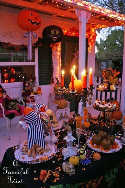 Backyard Halloween Party  609 best Halloween Outdoor Decor images on Pinterest