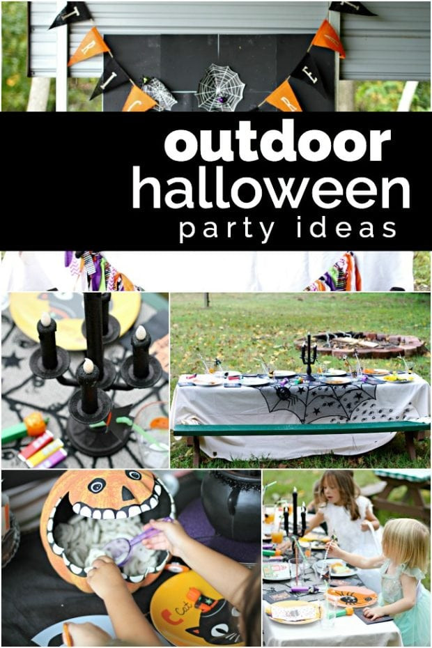 Backyard Halloween Party  A Halloween Costume Hayride Party Spaceships and Laser Beams